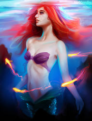 Ariel: Surface by SirNerdly