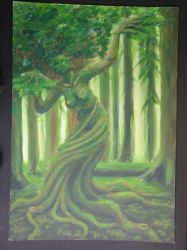 the greenwoman by jay6cee6