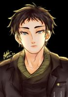 Akaashi Done by Mikilla