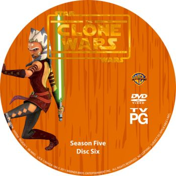 Star Wars The Clone Wars S5 D6 by Mastrada101