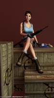 Lara Croft 87 by legendg85