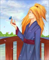 Deidara loves the nature by VALUmon