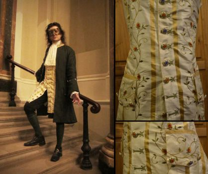 Embroidered Waistcoat by paul-rosenkavalier