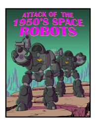 Commission: 1950's Space Robots by The-Great-Geraldo