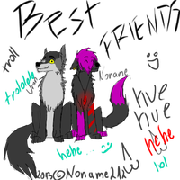 .::Noname AND Uran-BEST FRIENDS::. by Nonthyl