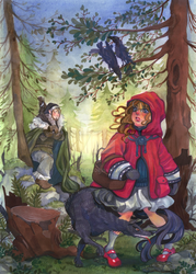 Little Red Ridinghood by ElfenCeres