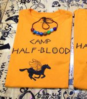 Percy Jackson Camp Half-Blood T-shirt by TheDoorWithin