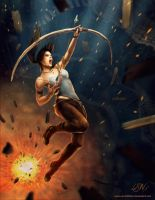 Tomb Raider - Downfall by LarryWilson