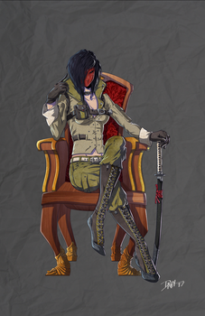 THE BARONESS - finished by DavyWagnarok