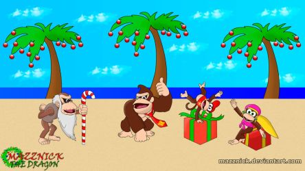 Tropical Holiday with the Kongs by Mazznick