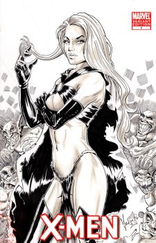 Goblin Queen - Sketch cover by Szigeti