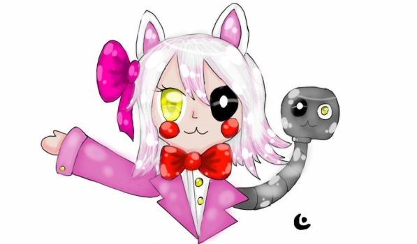 Human kawaii Mangle (Old) by Beatriz-Savin