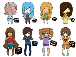 { C L O S E D } Female Adopts by Ask--GamingPrincess