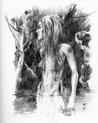 swamp maiden by ellastasia