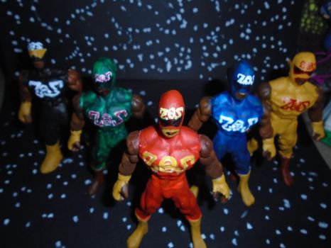 ZOZ FORCE FOUR ACTION FIGURES OFFICIAL by ztenzila