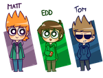 Eddsworld - Matt Edd n Tom by LN-Polar