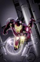 Iron Man Cover Collab by DontBornInInk