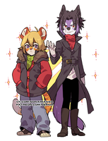 Furry Duo  23-21-18 by NeriorTM