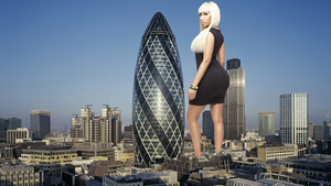 Nicki Minaj in London by DeckartJohn
