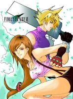 Tifa And Cloud by Overweight-Cat