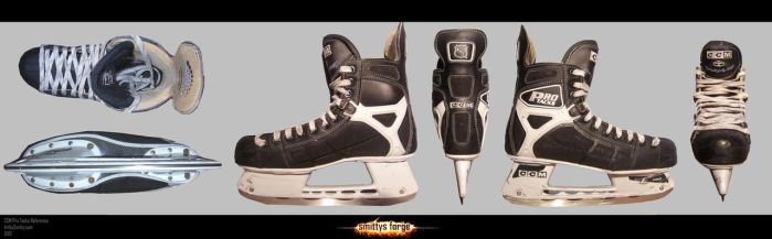 Reference - CCM Hockey Skates by Art-by-Smitty