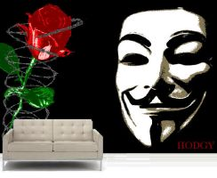 Freedom Wall Mural - 5FT x 8FT - 129.00 GBP by Hodgy-Uk
