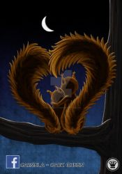 Squirrels in Love by Carmela-DarkQueen
