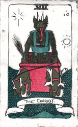 Tales Tarot Set: VII The Chariot by Lunitaire