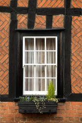 Cottage Window by NickiStock
