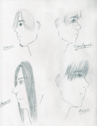 Male profiles by animehotaru19