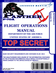 F-70A Flight Manual Cover USAF by viperaviator