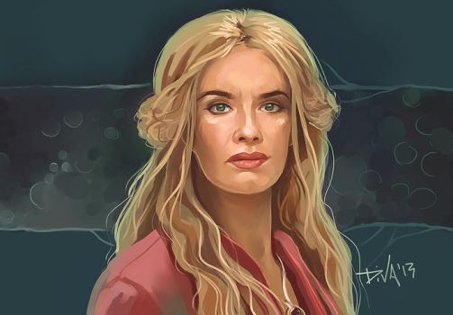 Cersei Lannister by CurlyJul