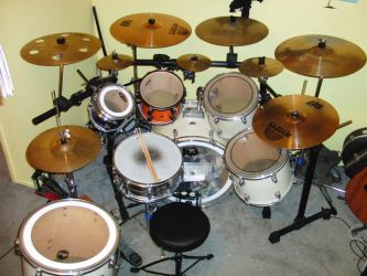 I love my drum set by EROCKERTORRES