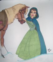 Belle and Philippe by happyeverafter