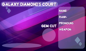 Outcast Court Application - Galaxy Diamond Court by netflixandsapphire