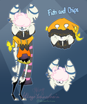 Unnamed New Motif Monster OC by Mikage-YoshinoAnerin