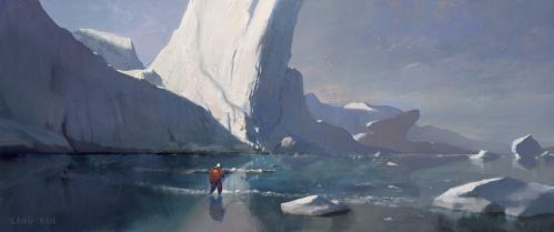 Cold Planet by fluxen