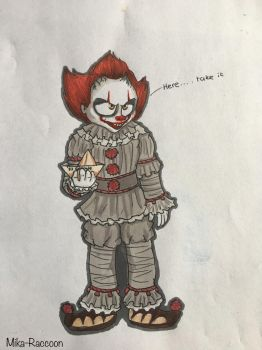 New Pennywise by Mika-Raccoon