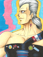 Jean Pierre Polnareff by TaiyakiPress