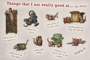 Things that I am good at by samuel123