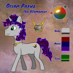 Orion Paxus Reference Sheet by SuperMiniMicro