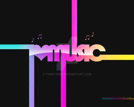 Wallpaper: i love music by Torsten85