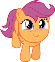 Looking Up - Scootaloo by TomFraggle