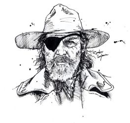 Rooster Cogburn by freaky-dragonlady