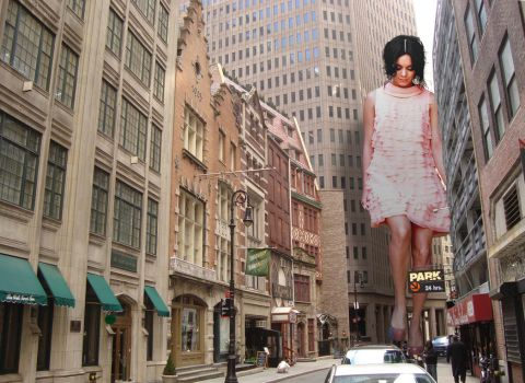 Vanessa in New York by Accasbel