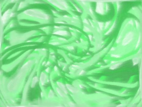 Abstract green by leosthenerd