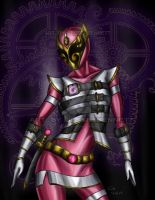Pink ranger concept by blueliberty