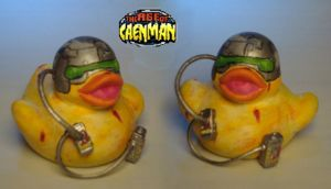 Weapon X rubber ducky by Caen-N