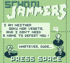 School Jammers - Title Screen by Nekith