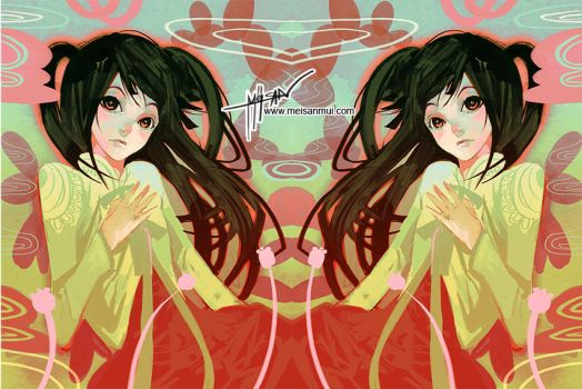 ::GIRL DUO:: by meisan